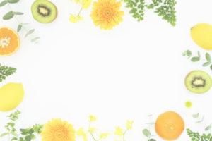 フルーツと花