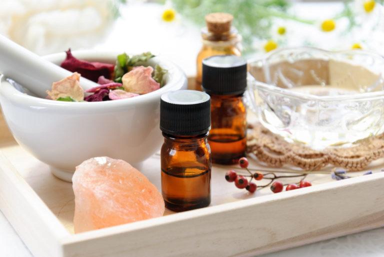 クレイとアロマと天然塩の癒し
